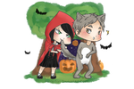 +HQ OC+ Little red ridding hood?? by Nicas-Tan