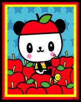 Pandapple by aeonflux707