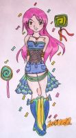 ::Loli Lola Colored:: by JettPuff