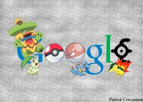 Google doodle by Elementspirts