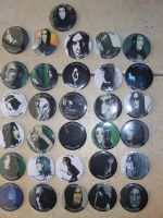 Snape buttons by shyfoxling