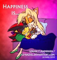Happiness is... by lu-raziel