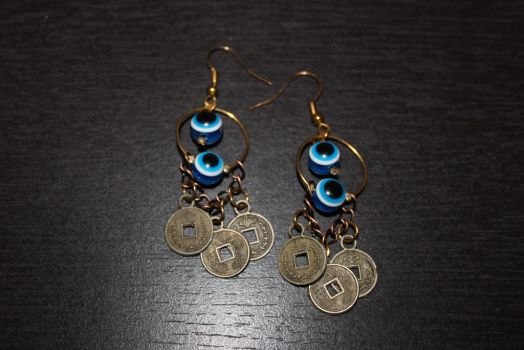 Semi-Persian Earrings by Goofycabal