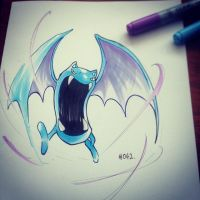 pkmn of the day- big mouth doodle by ExShen