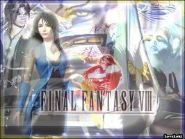 final fantasy VIII wall by LoveLoki