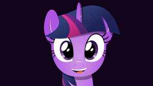 Twilight Sparkle Wallpaper by albsi