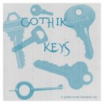 Gothik Keys by gothika-brush