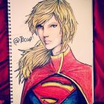 supergirl portraits by tbcoop