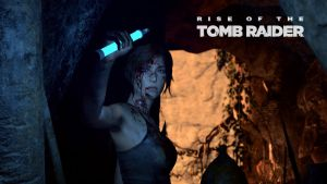 Riso of Tome Raider cave by micro5797