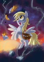 MLP Fan Art: Derpy hooves by SemajZ