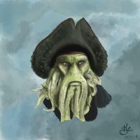 Davy Jones by WulfFather