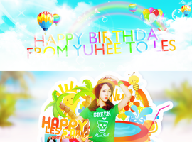 HAPPY BIRTHDAY TO LESTRODIEN =)) by Yoo-YuHee