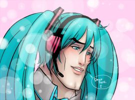 Handsome Miku-chan by Next--LVL