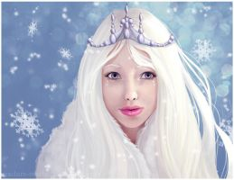 Snow Princess by madam-marla