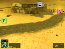 BFBC:2 Flash game Hud WIP. by Proxone