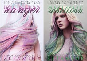 Book Cover - Reckless Hunger Novels by OmegaMine