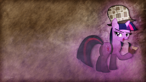 Twilight Sparkle - Sherlock Holmes Theme by Jamey4