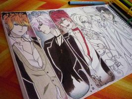 Diabolik Lovers - WIP by yeon-rin