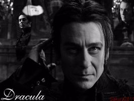 Dracula black and white by Sakura2811