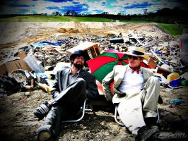 Suits in a Landfill - 011 by PxRxSxRx
