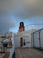 on QE2's deck by avarenity