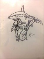 Great White by ejgg