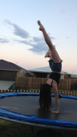 hand stand by Genevieve-Chontay