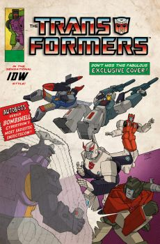 Transformers 12 NYCC Exclusive by wordmongerer