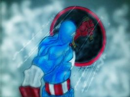 CAPTAIN AMERICA by gongonlit21