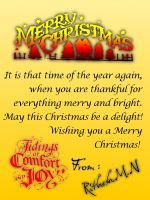 Merry Christmas by rithmax