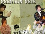 Ryan Ross and Brendon Urie by xSiskyxBusinessx94