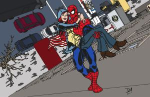 Spidey and MJ - Carry Me Home by edCOM02