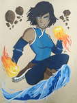 Korra by MissMinority