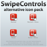SwipeControls Alt Icon Pack by wojtekww