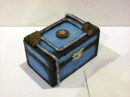 Steampunk Jewelry Box by eldon14