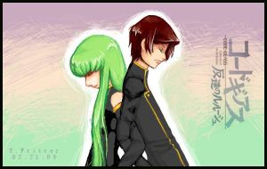 Lelouch + CC : GEASS by kiyone