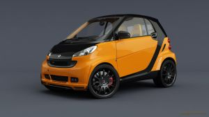 Smart Brabus orange by RJamp