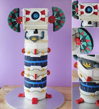 Skyward Sword :: Beamos Cake by cakecrumbs