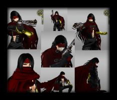Vincent Valentine in IMVU by Cherokee-Rose