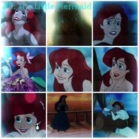 The Little Mermaid collage by SweetHea