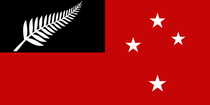 New Red Ensign for New Zealand by YulianEruannoNoldor