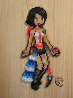 Yuna Trainer FFX-2 Perler Beads by Cimenord