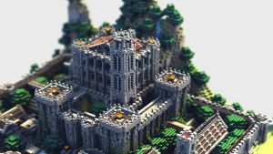 Castle 3D Model by soongpa