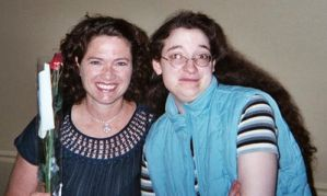 Heather Langenkamp and Me 1 by DreamRevolution
