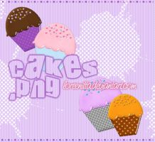 Cakes .png by Loreenitta