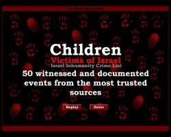 Children,Victims of Israel-E- by No-More-Ignorance