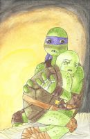 Donnie x Mikey - Please Don't Cry, Mikey by YamisGuardianAngel