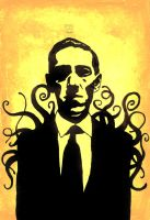 H.P. Lovecraft [dedo9] by aberrentideals