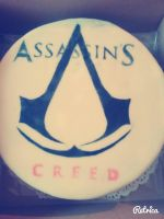 My Assassin's Creed Cake! by Kirsten--Chan