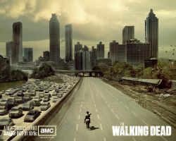 The Walking Dead Wallpaper by Zajakiel
